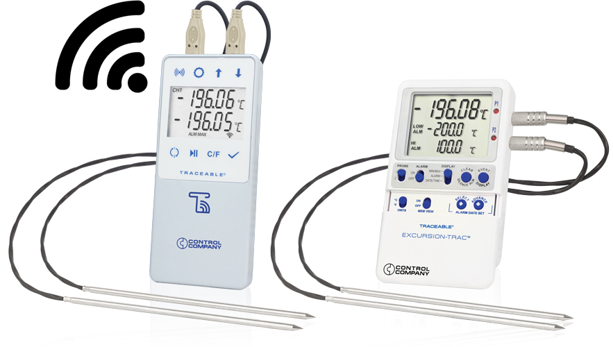 Liquid Nitrogen (LN2) Traceable® Thermometers